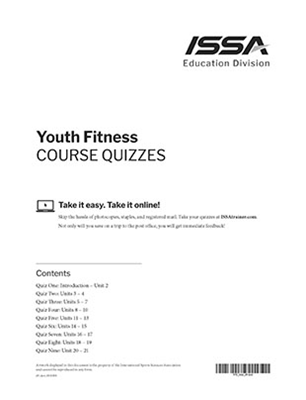 Youth Fitness Certification - Quiz
